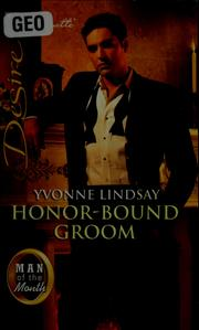 Cover of: Honor-bound groom
