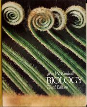 Cover of: Biology by John W. Kimball