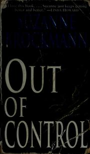 Cover of: Out of control