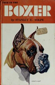 Cover of: This is the boxer | Stanley U. Volpe