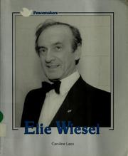 Cover of: Elie Wiesel
