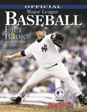 Cover of: Official Major League Baseball Fact Book | Sporting News