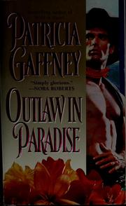 Cover of: Outlaw in paradise