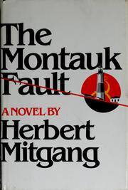 Cover of: The Montauk Fault, a novel