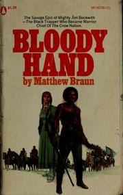 Cover of: Bloody hand