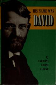 Cover of: His name was David
