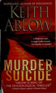 Cover of: Murder suicide