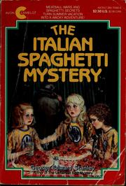 Cover of: The Italian spaghetti mystery