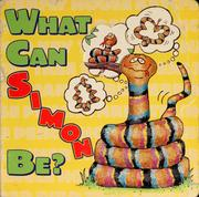 Cover of: What can Simon be?