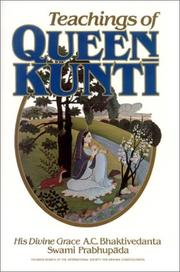 Cover of: Teachings of Queen Kunti
