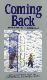 Cover of: Coming Back