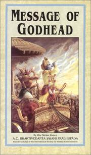 Cover of: Message of Godhead