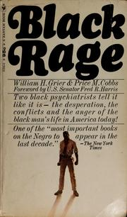 Cover of: Black rage | William H. Grier