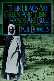 Cover of: Their heads are green and their hands are blue
