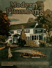 Cover of: Modern plumbing | Sears, Roebuck and Company