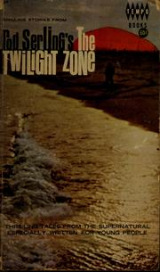 Cover of: Chilling stories from Rod Serling's The twilight zone