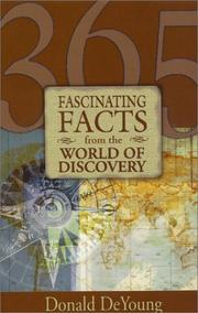 Cover of: 365 Fascinating Facts from the World of Discovery | Donald Deyoung