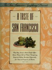 Cover of: A Taste of San Francisco |