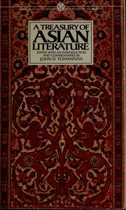 Cover of: A Treasury of Asian literature