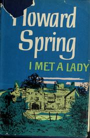 Cover of: I met a lady