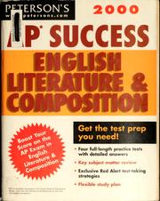 Cover of: AP success English literature and composition | Margaret Moran
