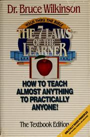 Cover of: The 7 laws of the learner