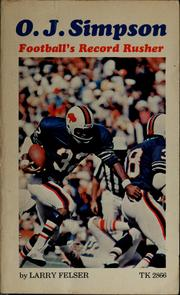 Cover of: O.J. Simpson: football's record rusher