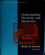 Cover of: Understanding electricity and electronics | Peter Buban