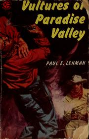 Cover of: Vultures of Paradise Valley