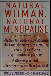 Cover of: Natural woman, natural menopause