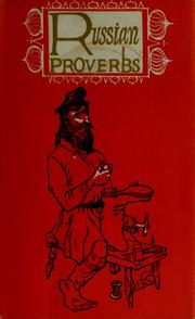 Cover of: Russian proverbs | Aldren Auld Watson