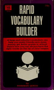Rapid vocabulary builder (1964 edition) | Open Library