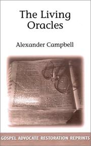 Cover of: The Living Oracles | Alexander Campbell