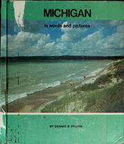 Cover of: Michigan in words and pictures