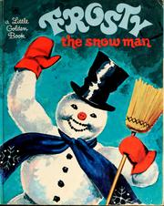 Cover of: Frosty the snow man