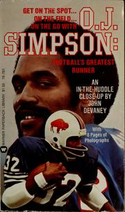 Cover of: O.J. Simpson | John Devaney