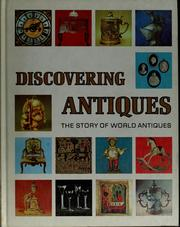 Cover of: Discovering antiques |