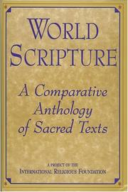 Cover of: World scripture
