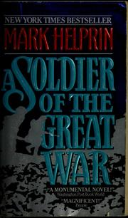 Cover of: A soldier of the great war