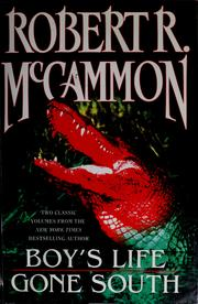 Cover of: Two classic volumes from Robert R. McCammon