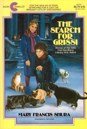 Cover of: The Search for Grissi | Mary Francis Shura