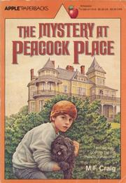 Cover of: The Mystery at Peacock Place