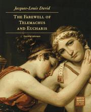 Cover of: Jacques-Louis David, the farewell of Telemachus and Eucharis