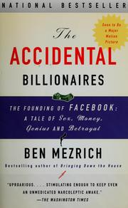 Cover of: The accidental billionaires