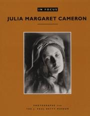 Cover of: Julia Margaret Cameron