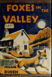Cover of: Foxes in the valley