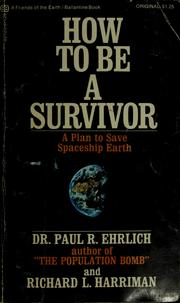 Cover of: How to be a Survivor