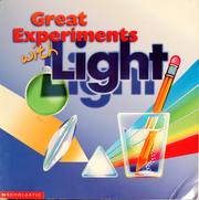 Cover of: Great experiments with light