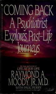 Cover of: Coming back | Raymond A. Moody