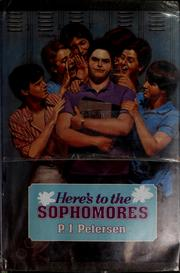 Cover of: Here's to the sophomores